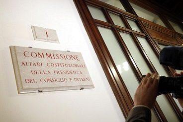 Riforma costituzionale_lavori Commissione