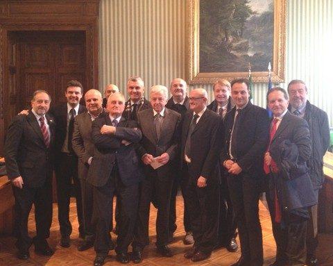 2014_Incontro delegazione piemontese_Riforma geografia giudiziaria