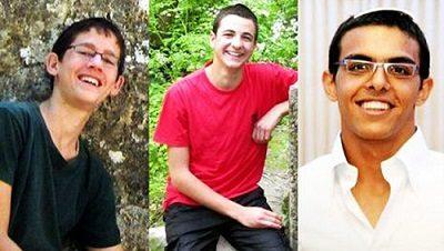 Israele_kidnapped three teens