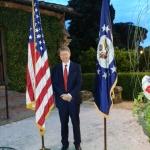 Roma, 4 Luglio 2013. All'Ambasciata USA per la celebrazione dell'Independence Day