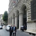 Roma, Giugno 2012. Ministero della Giustizia. Consegna firme contro la soppressione del Tribunale di Pinerolo