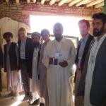 Afghanistan, Settembre 2005. A Kabul, con la delegazione NATO per il monitoraggio elettorale