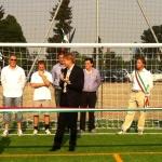 Villafranca Piemonte, Giugno 2012. Inaugurazione dei nuovi campi di calcetto e beach volley