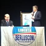 Chivasso, Febbraio 2013. Campagna elettorale PdL
