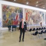 Gerusalemme, Ottobre 2011. Al Parlamento di Israele (Knesset)