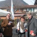 Piossasco, Febbraio 2013. Incontro con gli elettori