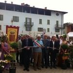 """Cavour, Maggio 2012. Inaugurazione della manifestazione """"Cavour in fiore"""""""
