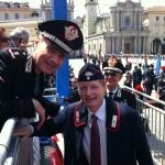 Torino, Giugno 2011. 150° Unità d'Italia. Con il Generale Vincenzo Giuliano al XXI Raduno nazionale dei Carabinieri