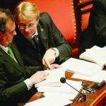 Roma 2011. In Aula, con il ministro Roberto Calderoli